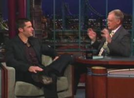 Matthew Fox da David Letterman