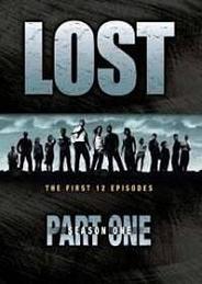 Lost - Stagione 1, parte 1 (copertina inglese)