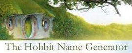 Hobbit Name Generator