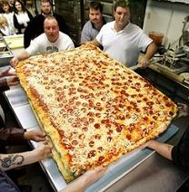 La pizza più grande