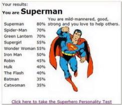 Che supereroe sei?