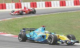 G.P. Spagna - Alonso precede Schumacher