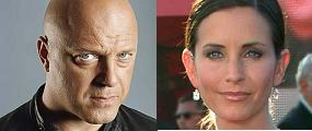 Michael Chiklis, Courteney Cox