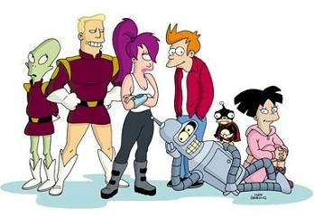 Futurama - Il cast