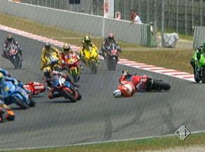 Moto GP - Incidente al G.P. di Catalogna