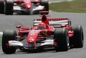 Schumacher vince il GP di Francia