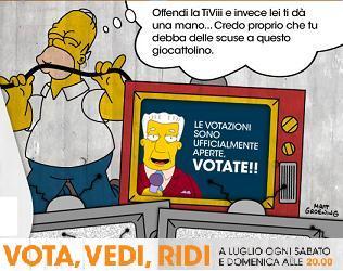 I Simpson - Vota, vedi, ridi