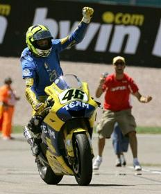 Rossi vince il Moto GP di Germania