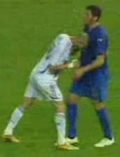 Zidane e Materazzi