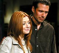 Willow (Alyson Hannigan) e Wesley (Alexis Denisof)