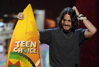Teen Choice, vince Johnny Depp