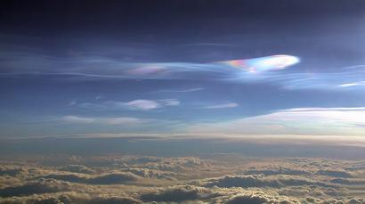Nuvole nella troposfera