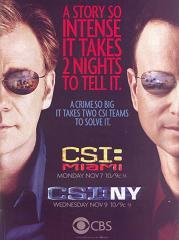 CSI Miami e CSI NY