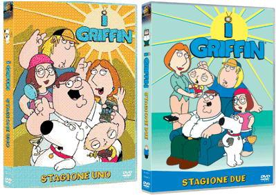 I DVD italiani de I Griffin