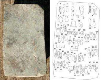 La scrittura più antica del mondo
