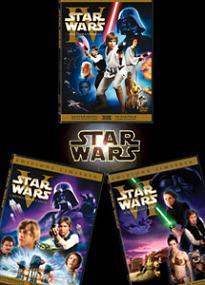 Star Wars - I DVD della trilogia classica