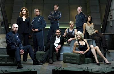 Battlestar Galactica, il cast