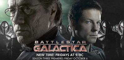 Battlestar Galactica, anno 3