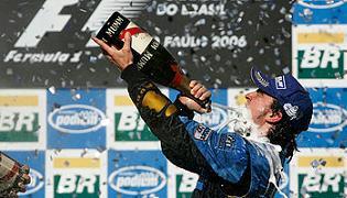 G.P. del Brasile, Alonso campione del mondo