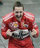 G.P. della Cina, vince Schumacher