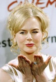 Nicole Kidman oggi a Roma