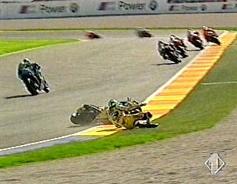 La caduta di Rossi