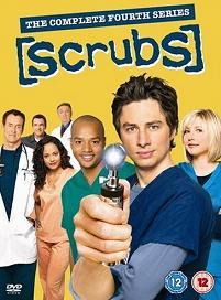 Scrubs, la stagione 4 (copertina del cofanetto inglese)