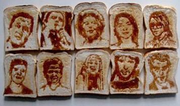 L'arte sui toast