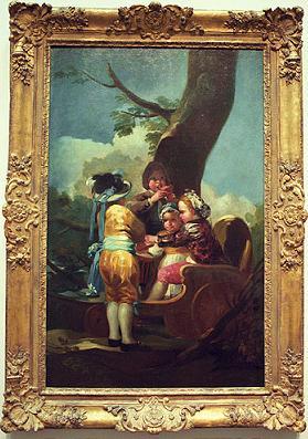 Rubato un quadro di Goya