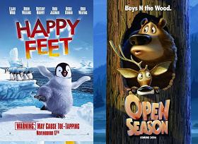 """Happy Feet"", ""Boog & Elliot a caccia di amici"""