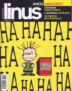 """""""Linus"""", numero 500"""