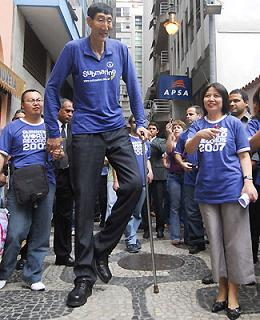 L'uomo più alto del mondo