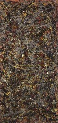 "Jackson Pollock, ""N. 5, 1948″"