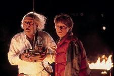 """""""Ritorno al futuro"""", Doc e Marty"""