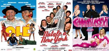 I tre film italiani di Natale