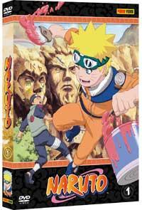 Naruto, DVD1