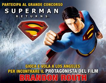"""Superman Returns"", concorso Warner"