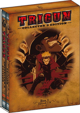 """Trigun - Collector's Edition, DVD Box 1"""