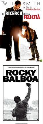 """""""La ricerca della felicità"""", """"RockyBalboa"""""""