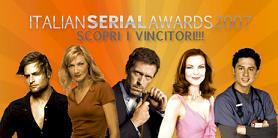 Italian Serial Awards 2007, ivincitori