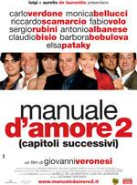 """Manuale d'amore 2, capitolisuccessivi"""