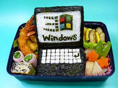 Un sushi molto Windows!
