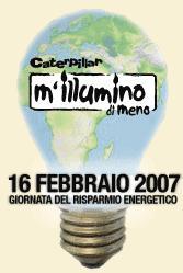 """""""M'illumino di meno2007″"""