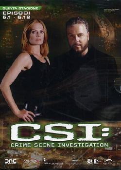 """""""CSI: Crime Scene Investigation - Quinta stagione, episodi 5.1 -5.12"""""""