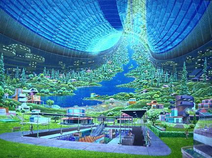 Donald Davis, colonia spazialetoroidale