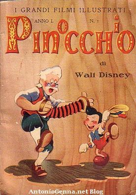"""Il libretto di""""Pinocchio"""""""