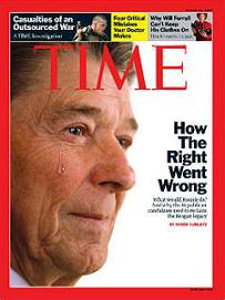 """Time"", Ronald Reagan"