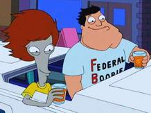 """American Dad, """"Roger edio"""""""