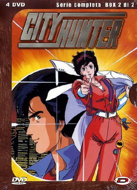 """City Hunter - Serie completa, box 2 di 2″"