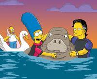 """I Simpson, """"Il falò deilamantini"""""""